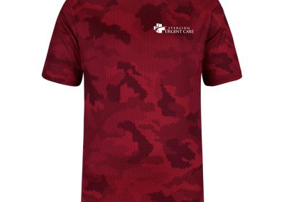 Sterling Urgent Care Red Camo T-Shirt